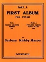 First Album For Piano Part 1 Barbara Kirkby-Mason laflutedepan.com
