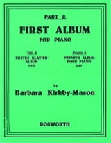First Album For Piano Part 2 Barbara Kirkby-Mason laflutedepan.com