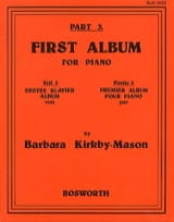 First Album For Piano Part 3 Barbara Kirkby-Mason laflutedepan.com