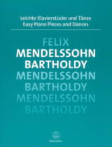 Easy Piano Pieces and Dances - Félix MENDELSSOHN - laflutedepan.com