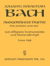 BACH - Ausgewählte Duet Sopran and Alt Volume 1 - Sheet Music - di-arezzo.com
