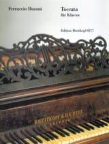 Toccata Ferruccio Busoni Partition Piano - laflutedepan.com