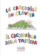 Le Crocodile du Clavier Partition Piano - laflutedepan