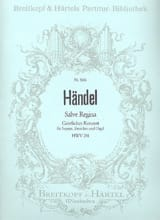 HAENDEL - Salve Regina HWV 241 - Sheet Music - di-arezzo.co.uk