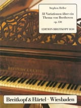 Stephen Heller - 33 Variations on a Beethoven Theme - Sheet Music - di-arezzo.co.uk
