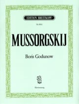 Modest Moussorgsky - Boris Godunov - Sheet Music - di-arezzo.co.uk