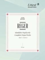 Oeuvre Pour Orgue Volume 1 Max Reger Partition laflutedepan.com