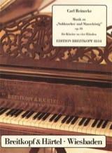 Carl Reinecke - Nussknacker Und Mausekönig Op. 46. 4 Mains - Partition - di-arezzo.fr