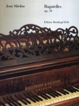 Bagatelles Opus 34 Jean Sibelius Partition Piano - laflutedepan.com