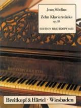 10 Klavierstücke Opus 58 Jean Sibelius Partition laflutedepan.com