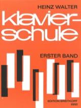 Klavierschule, Band 1 Heinz Walter Partition Piano - laflutedepan