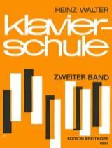 Klavierschule, Band 2 Heinz Walter Partition Piano - laflutedepan