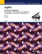 Scott Joplin - 6 Ragtimes - Sheet Music - di-arezzo.co.uk