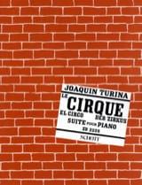 Der Zirkus Joaquin Turina Partition Piano - laflutedepan.com