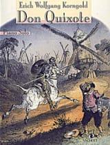Don Quixote KORNGOLD Partition Piano - laflutedepan