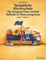 Méthode Européenne Volume 1 Fritz Emonts Partition laflutedepan.com