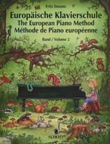 Fritz Emonts - European method of piano Volume 2 - Sheet Music - di-arezzo.com