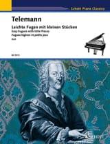 Georg Philipp Telemann - Leichte Fugen mit kleinen Stücken - Partition - di-arezzo.fr