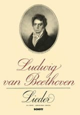 BEETHOVEN - 14 Lieder - Partition - di-arezzo.fr