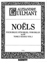 Alexandre Guilmant - Christmas Volume 1 Opus 60 - Sheet Music - di-arezzo.com