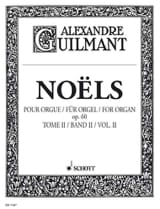 Alexandre Guilmant - Christmas Volume 2 Opus 60 - Partitura - di-arezzo.it