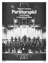 Partiturspiel, Bd 1 - Heinrich Creuzburg - laflutedepan.com