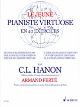 Le Jeune Pianiste Virtuose HANON Partition Piano - laflutedepan