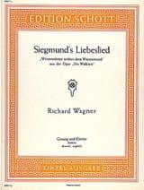 Richard Wagner - Siegmund's Liebeslied. Walküre - Sheet Music - di-arezzo.com