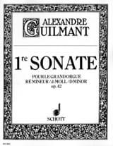 Sonate N° 1 Ré Mineur Opus 42 Alexandre Guilmant laflutedepan.com