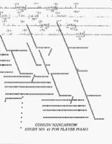 Study N° 41 Colon Nancarrow Partition Piano - laflutedepan