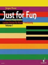 Just For Fun Volume 1. 4 Mains Jürgen Moser Partition laflutedepan