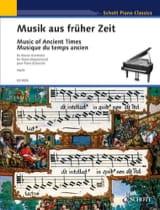 - Musik Aus Früher Zeit 1350-1650 - Partition - di-arezzo.fr