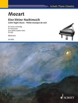 MOZART - Small Music Night K 525. 4 Hands - Sheet Music - di-arezzo.co.uk