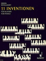 11 Inventions (1921) - Erwin Schulhoff - Partition - laflutedepan.com