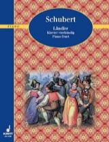 Ländler 4 Mains Franz Schubert Partition Piano - laflutedepan.com