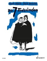 Die 7 Tödsunden - Kurt Weill - Partition - Opéras - laflutedepan.com