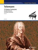 Georg Philipp Telemann - 12 Kleine Fantasien - Partition - di-arezzo.fr