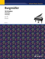 Frédéric Burgmuller - 18 Etüden Opus 109 - Sheet Music - di-arezzo.co.uk