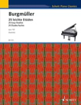 Frédéric Burgmuller - 25 Easy Studies Opus 100 - Sheet Music - di-arezzo.co.uk