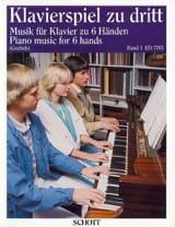 Klavierspiel zu dritt Bd 3 Partition Piano - laflutedepan.com