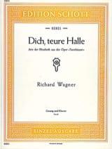 Richard Wagner - Dich, Truce Halle. Tannhäuser Wwv 70 - Sheet Music - di-arezzo.com