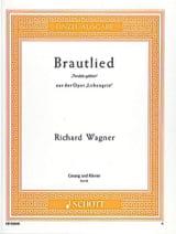 Brautlied : Treulich Geführt. Lohengrin WAGNER Partition laflutedepan