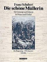 SCHUBERT - Die Schöne Müllerin D 795 Guitar Song - Sheet Music - di-arezzo.com