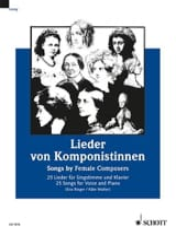 Femmes compositrices Partition Mélodies - laflutedepan.com
