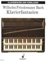 Wilhelm Friedemann Bach - Klavierfantasien - Partition - di-arezzo.fr