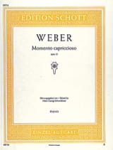 Carl Maria von Weber - Momento Capriccioso Op. 12 - Sheet Music - di-arezzo.co.uk