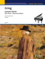 Lyrische Stücke - Edvard Grieg - Partition - Piano - laflutedepan.com