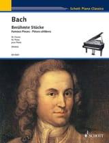 Pièces Célèbres BACH Partition Piano - laflutedepan.com